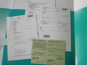 export 300x225Auto vrijwaren papieren