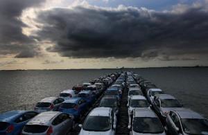 Auto uitvoeren naar het buitenland